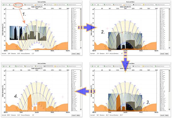 SolarGIS pvPlanner horizon editor2