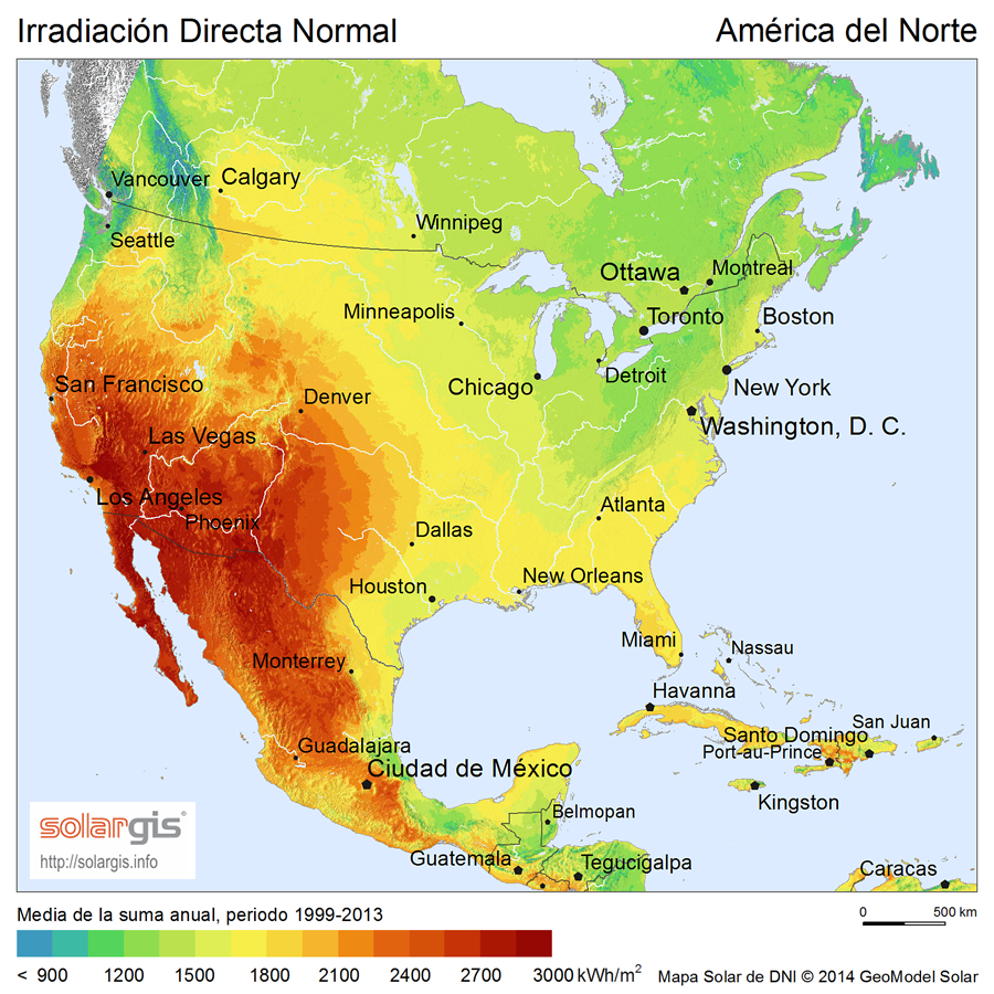 Download Free Solar Resource Maps Solargis - Interactive map exploration of north america