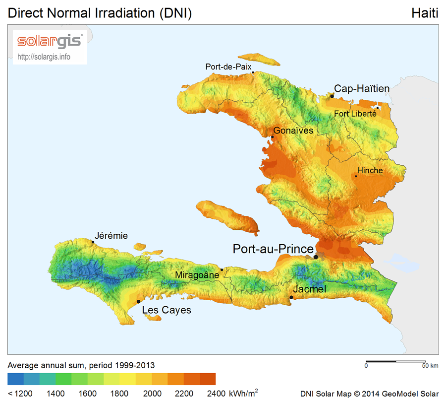 Download Free Solar Resource Maps Solargis - Haiti political map 1999