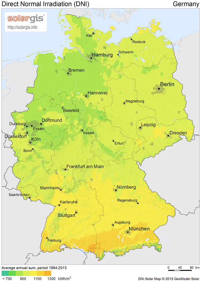 Download Free Solar Resource Maps Solargis - Germany map 2015