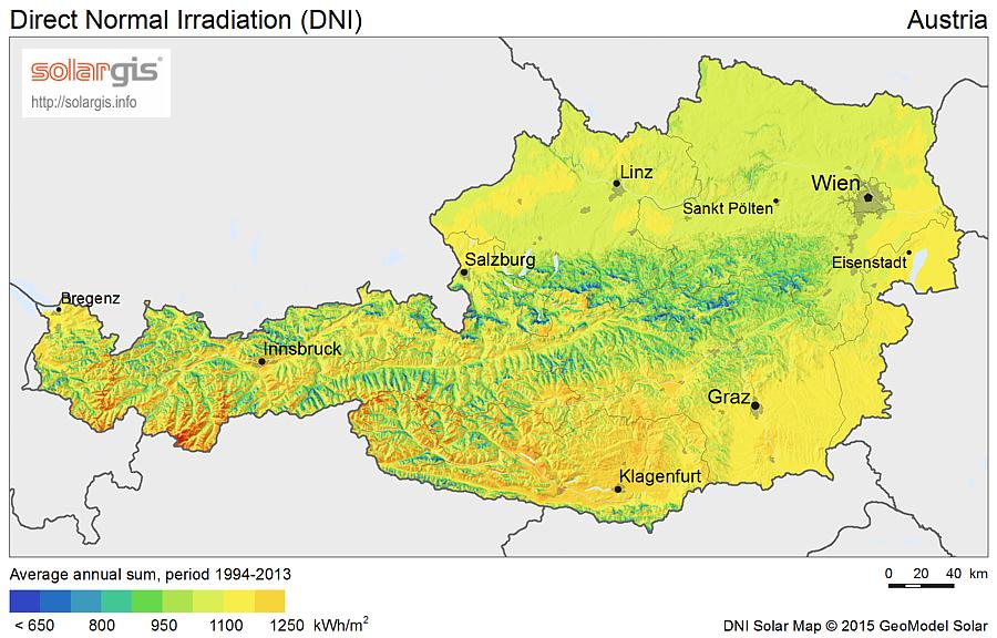 Download Free Solar Resource Maps Solargis - Klagenfurt austria map
