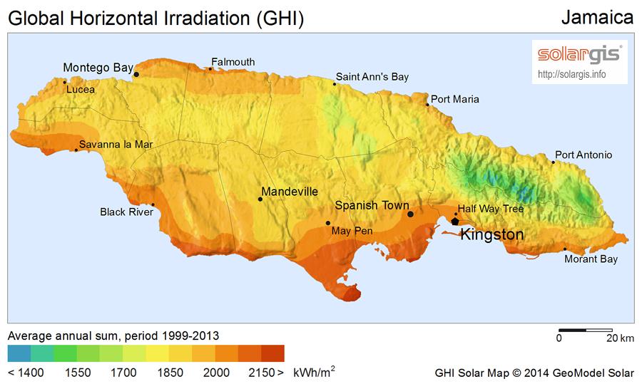 Download free solar resource maps  Solargis