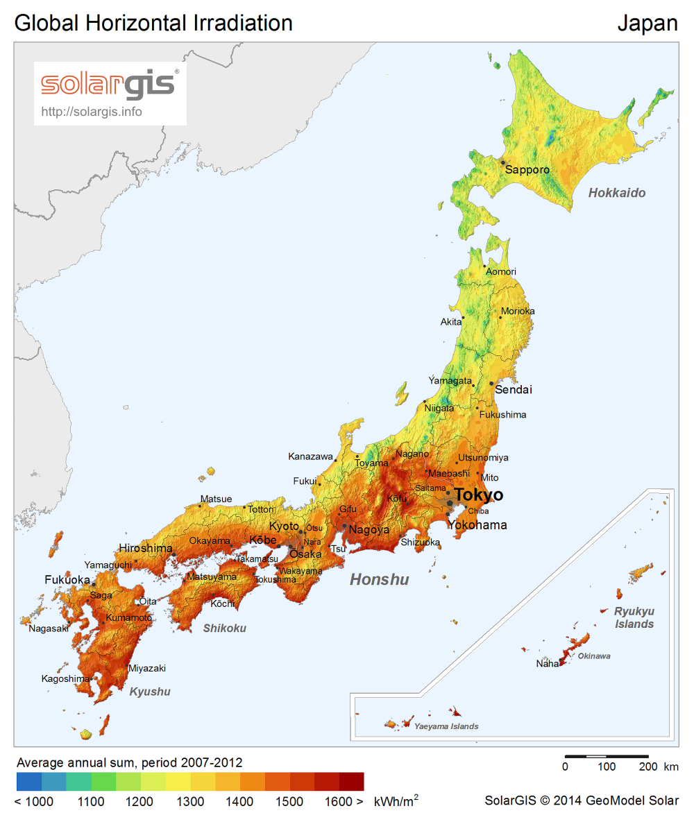 Investigate your region with Solargis solar resource maps