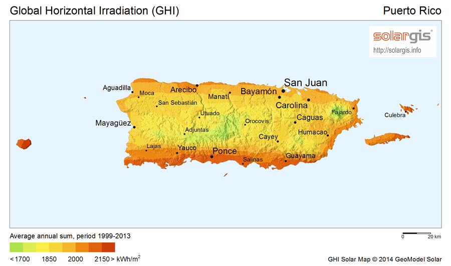 Download Free Solar Resource Maps Solargis - Puerto rico maps