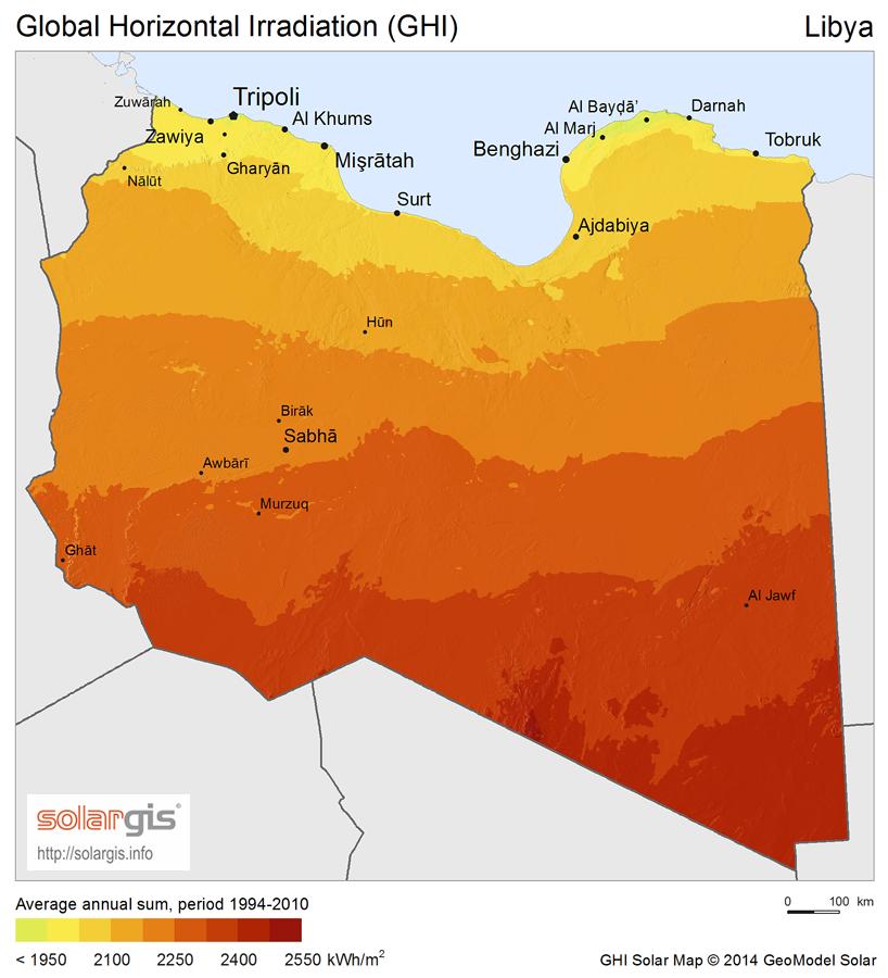 """Résultat de recherche d'images pour """"Libya, solar projects, 2016, 2017"""""""