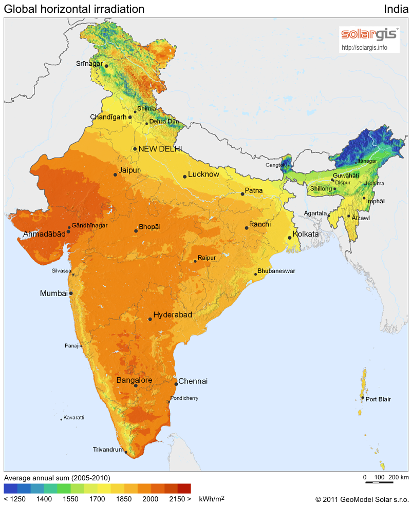 Download Free Solar Resource Maps Solargis - Solar power map us