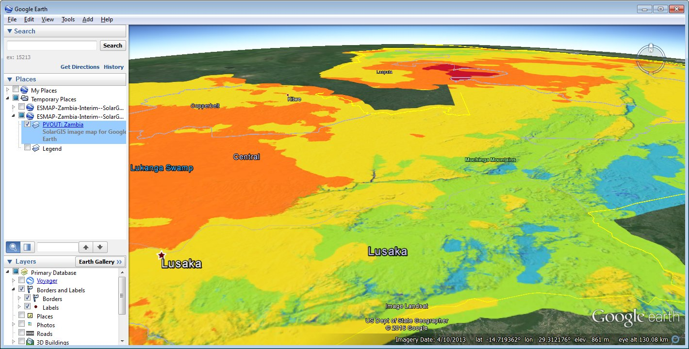 Solar radiation maps for Google Earth Overview – Maps in Google Earth